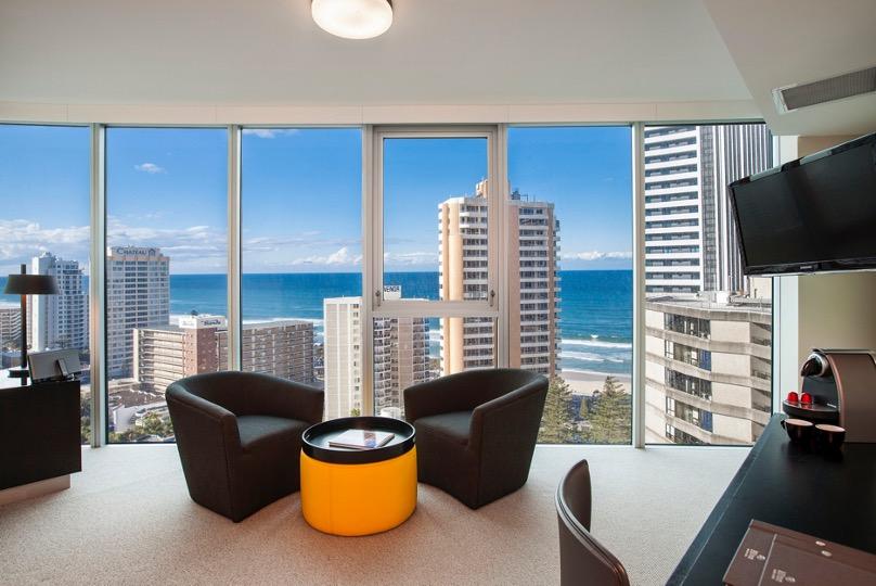 King Relaxation Suite, Hilton Surfers Paradise